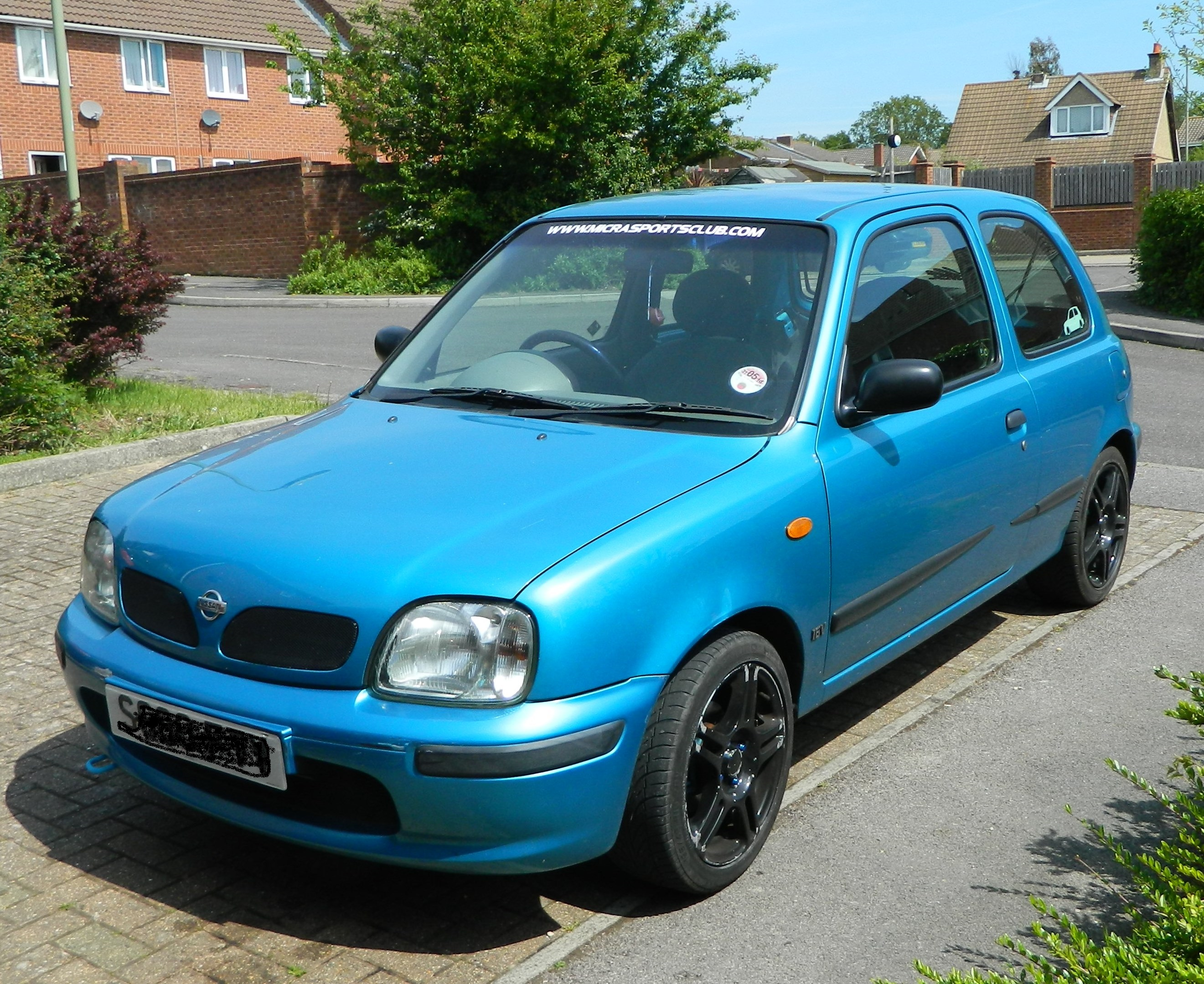 1998 nissan micra k11 for sale 1000cc micra sports club. Black Bedroom Furniture Sets. Home Design Ideas