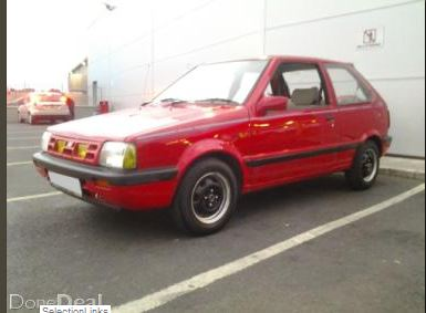 my first car 1992 nissan micra k10 1 0l micra sports club. Black Bedroom Furniture Sets. Home Design Ideas