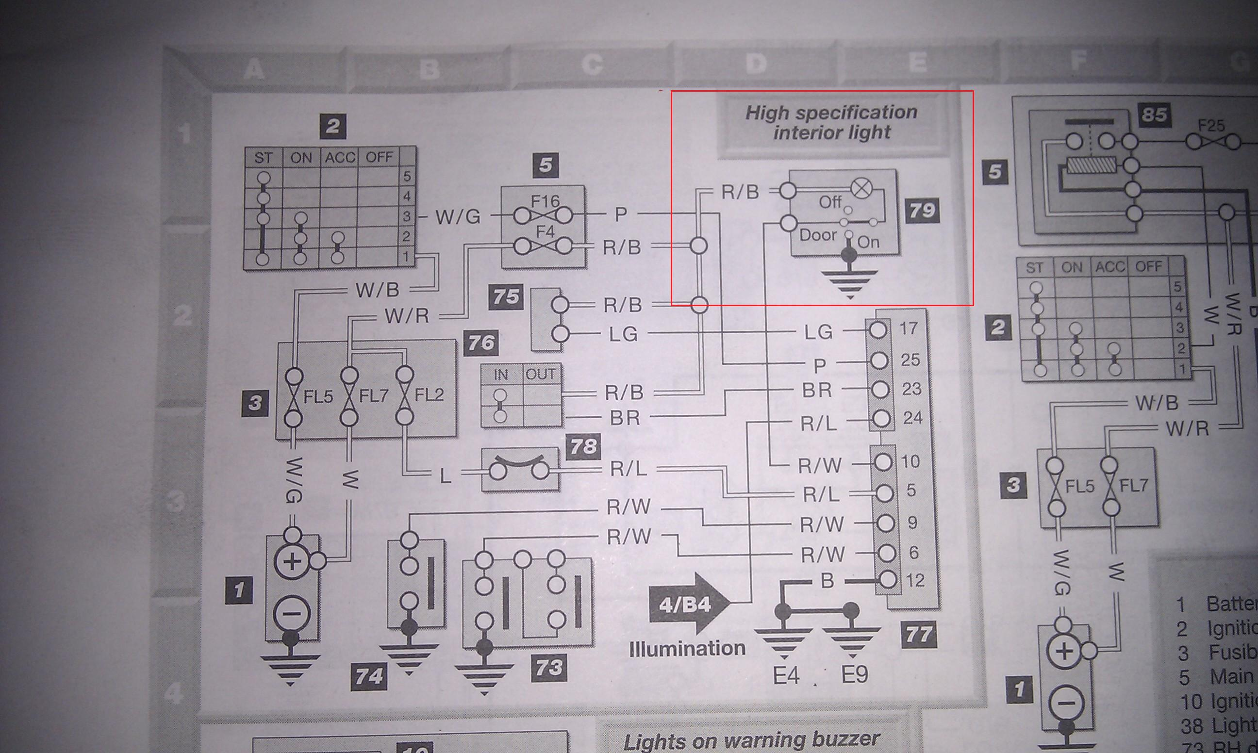 Nissan Micra K11 2001 Wiring Diagram : Wiring diagram k micra sports club